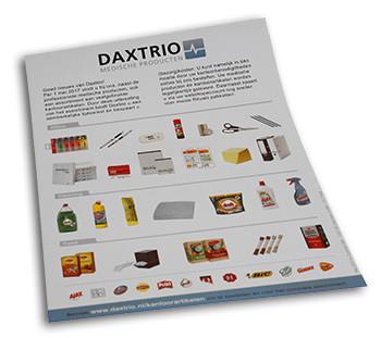 Kantoorartikelen bij Daxtrio