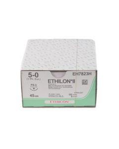Ethicon Ethilon 5-0 blauw 45cm nld FS-3 EH7823H