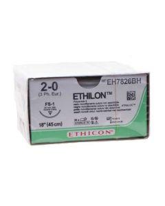 Ethicon Ethilon 2-0 zwart 45cm nld FS-1 EH7826BH