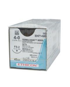 Ethicon Zijde 4-0 zwart 45cm nld FS-2 EH7149G