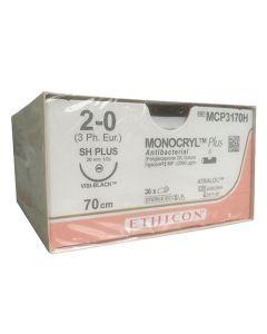 Ethicon Monocryl Plus 2-0 JB VB 70cm MCP3170H