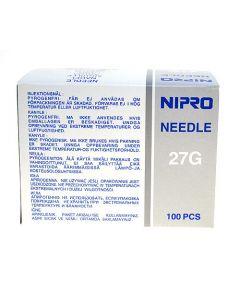 Nipro injectienaalden 0.4x12mm grijs