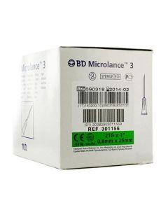 Naalden Microlance 0.8x25 21Gx1 groen