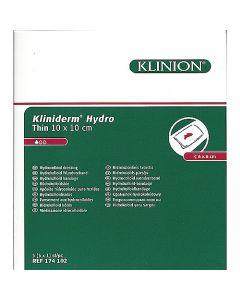 Kliniderm Hydro thin 10x10cm steriel
