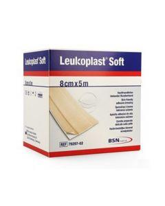BSN Leukoplast Soft 8cm x 5m (voorheen BSN Hansaplast)