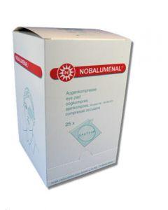 Nobalumenal oogkompressen steriel