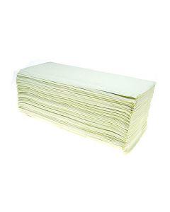Daxtrio handdoekjes Comfort Z-vouw 2-laags groen