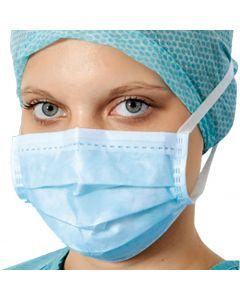 Medimask mondmasker met linten - EN 14683 type II