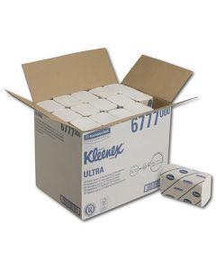 Handdoekjes Kleenex ultra 6777 wit