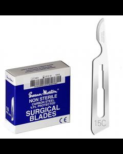 Swann Morton scalpelmesjes niet steriel 15C