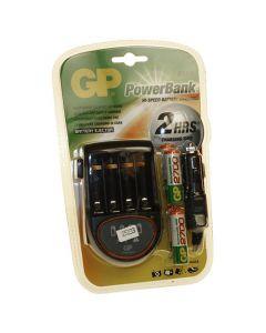 Batterijlader incl 4xAA 2700mah voor ABPM6100