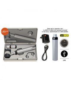 Heine Delta 20T dermatoscoop USB 3.5 volt set