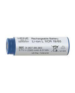 Heine Li-ion accu 3.7 volt voor Beta 4 oplaadbaar handvat X-007.99.383