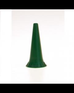 Otoscoop tips groen 2.5mm voor Heine