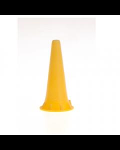 Otoscoop tips geel 4.0mm voor Heine