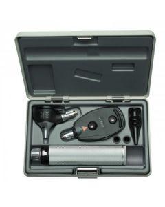 Heine K180 diagnostiekset inclusief K180 F.O. 3,5V otoscoop, K180 ophthalmoscoop, Beta 4 USB handvat en hard etui