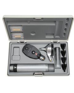 Heine Beta 400 diagnostiekset inclusief 3,5 volt NT 4 tafellader en hard etui