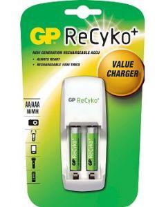 Recuko Batterijlader GP incl 2xAAA 850mah
