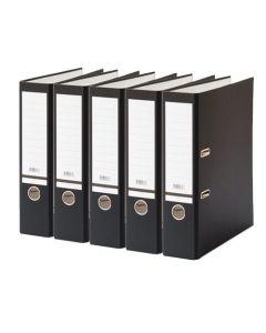 Ordner budget A4 80mm zwart 5 stuks