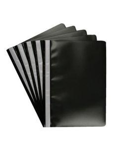 Snelhechter A4 PP zwart 10 stuks