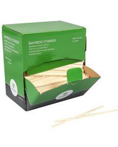 Bamboe Roerstaafjes 11 cm.