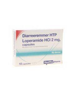 Healthypharm diarreeremmer caps Loperamide 2 mg