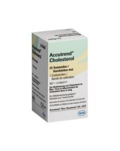 Accutrend Cholesterol strips 25 st.