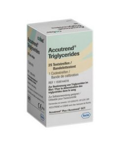 Accutrend triglycerides strips