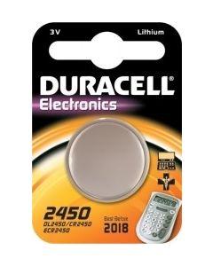 Duracell batterij knoopcel CR2450