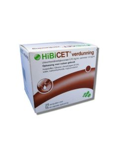 Hibicet verdunning 25 x15ml
