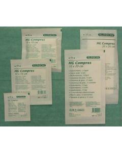 Klinion HG kompres 10 x 20 cm steriel