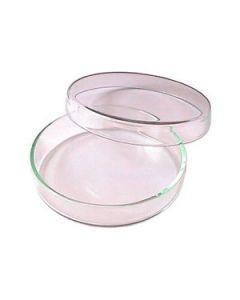 Petrischaal glas 100mm met deksel