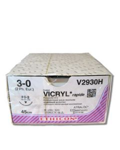 Ethicon Vicryl Rapide 3-0 1x45cm FS2 V2930H 36st.