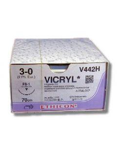 Ethicon Vicryl 3-0 FS1 V442H