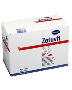 Zetuvit absorberend kompres 10x10cm niet steriel